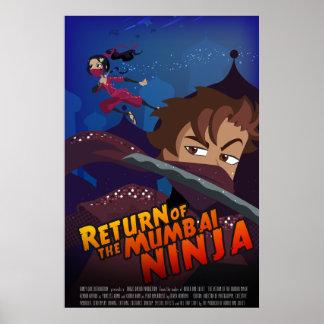 Poster de Ninja del imitador de Bollywood