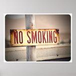 Poster de no fumadores