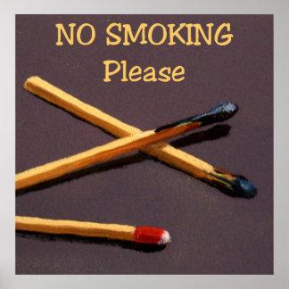 POSTER DE NO FUMADORES: ARTE: REALISMO