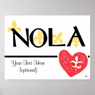 Poster de NOLA Love de Lis