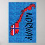 Poster de Noruega