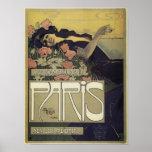 Poster de Nouveau del arte de París