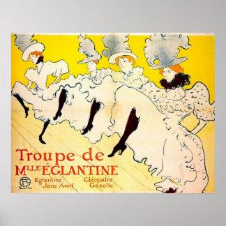 Poster de Nouveau del arte de Toulouse-Lautrec