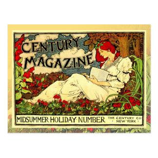 Poster de Nouveau del arte del vintage de la lectu Postal