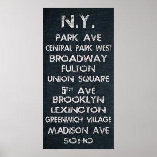 Poster de Nueva York
