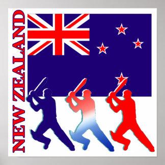 Poster de Nueva Zelanda del grillo