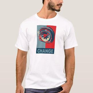 Poster de Obama - cambio del neumático Playera