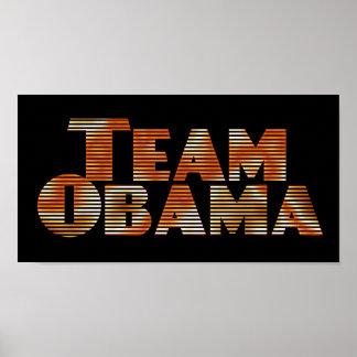 Poster de Obama del equipo