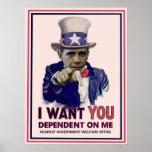 Poster de Obama del tío Sam