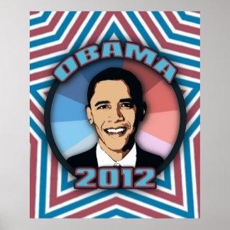 Poster de Obama en 2012