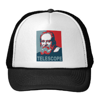 Poster de Obama - telescopio de Galileo Gorras
