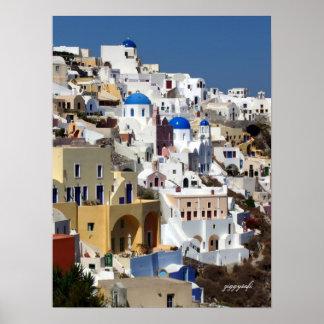 Poster de Oia, Grecia
