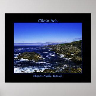 Poster de Oileán Acla (isla de Achill)…