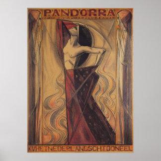 """Poster de PANDORRA """"Arturo Van Schendel"""""""