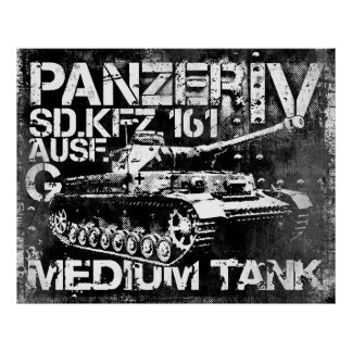 Poster de Panzer IV Póster