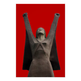 Poster de Pasionaria del La de Dolores Ibarruri