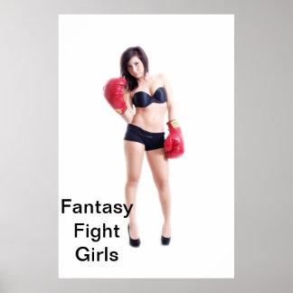 Poster de Payton de los chicas de la lucha de la f