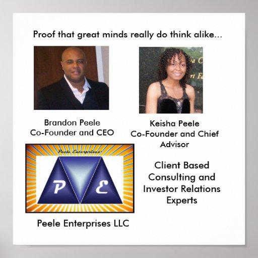 Poster de Peele Enterprises Company