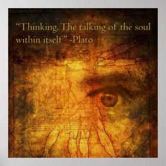 Poster de pensamiento