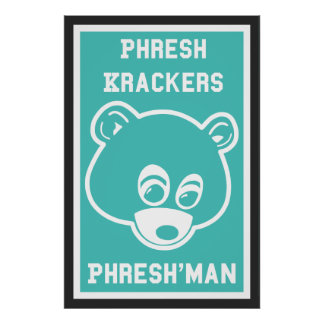 Poster de Phresh Krackers Phresh'man