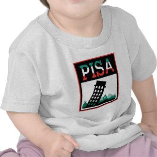 Poster de Pisa Camisetas