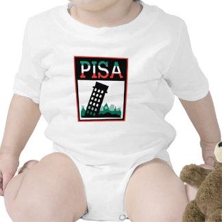 Poster de Pisa Trajes De Bebé