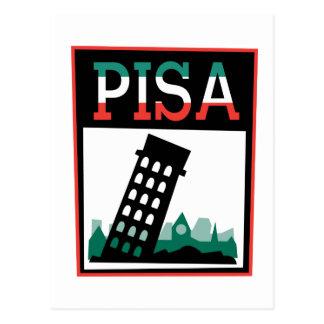 Poster de Pisa Tarjetas Postales