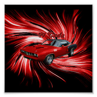 Poster de Plymouth Cuda
