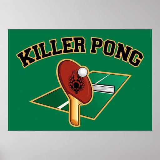 Poster de Pong del asesino
