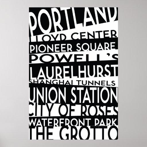 Poster de Portland