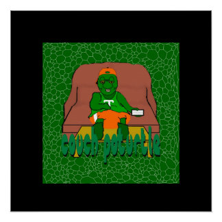 Poster de Poturtle del sofá
