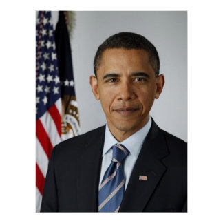 Poster de presidente Barack Obama