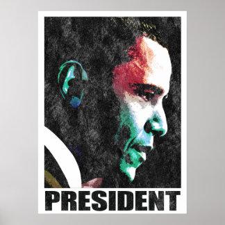 Poster de presidente Obama Vintage 2
