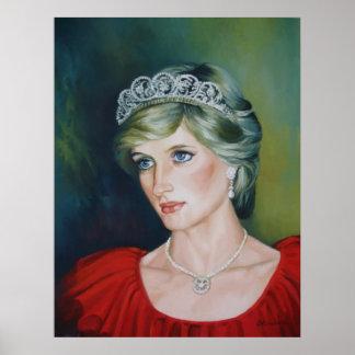 Poster de princesa Diana