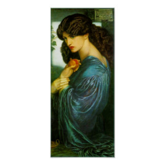 Poster de Proserpine de Dante Gabriel Rossetti