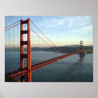 Poster de puente Golden Gate Póster