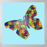 Poster de Puzzlefly del autismo
