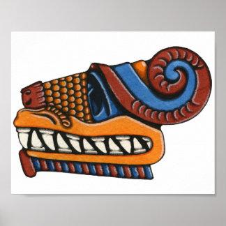 Poster de Quetzalcoatl