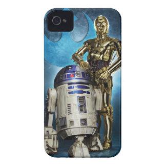 Poster de R2-D2 y de C-3PO Carcasa Para iPhone 4