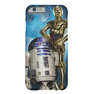 Poster de R2-D2 y de C-3PO Funda Barely There iPhone 6