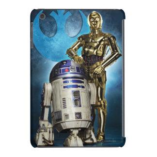 Poster de R2-D2 y de C-3PO Funda Para iPad Mini Retina