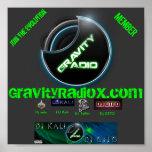 Poster de radio de la gravedad