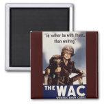 Poster de reclutamiento de WAC Iman De Frigorífico