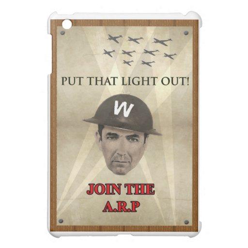 Poster de reclutamiento de WW2 ARP