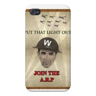 Poster de reclutamiento de WW2 ARP iPhone 4/4S Fundas
