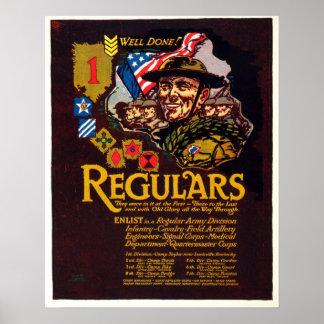 Poster de reclutamiento de WWI