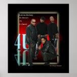 poster de RedGlow del retrato 4U