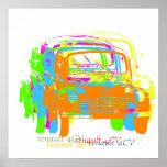 Poster de Renault 4CV