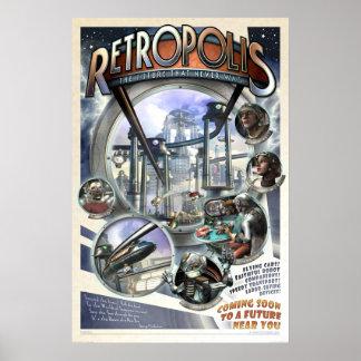 """Poster de Retropolis (20x30"""")"""