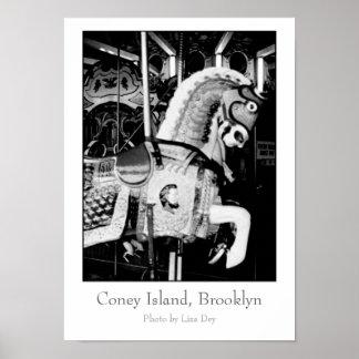 """""""Poster de rey Horse"""""""